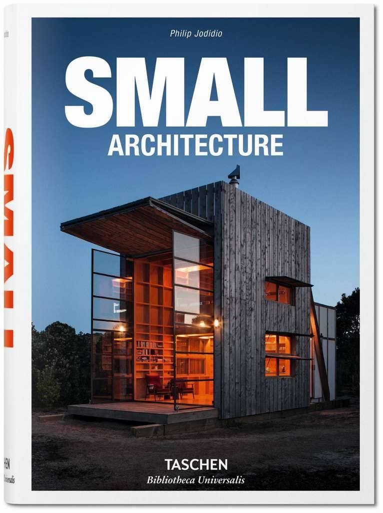 Small Architecture del autor Philip Jodidio, Tapa dura, 14 x 19,5 cm, 584 páginas : Cover © TASCHEN GmbH