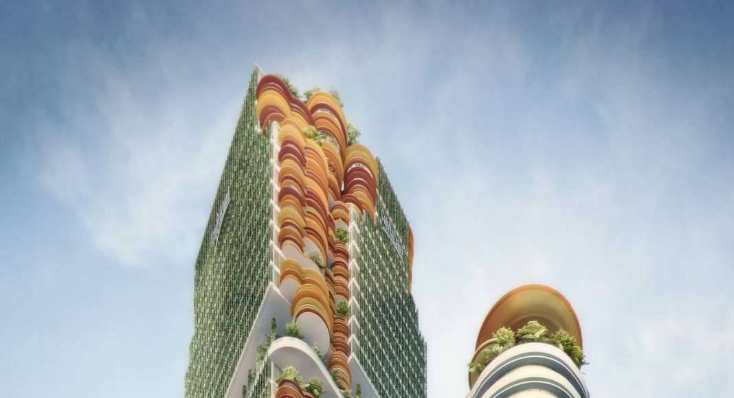 Sky Forest City Tower, Singapore (unbuilt) : Photo credit © WOHA