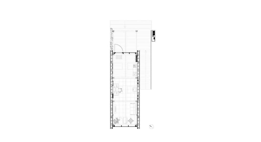 The Circular Economy Building diseñado por Arup Associates : Drawing © Arup Associates