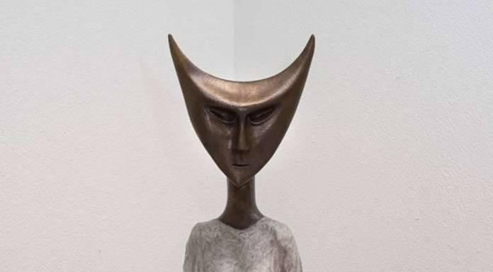 Leonora Carrington, Escultura en bronce, Tamborilera : Fotografía © Leonora Carrington