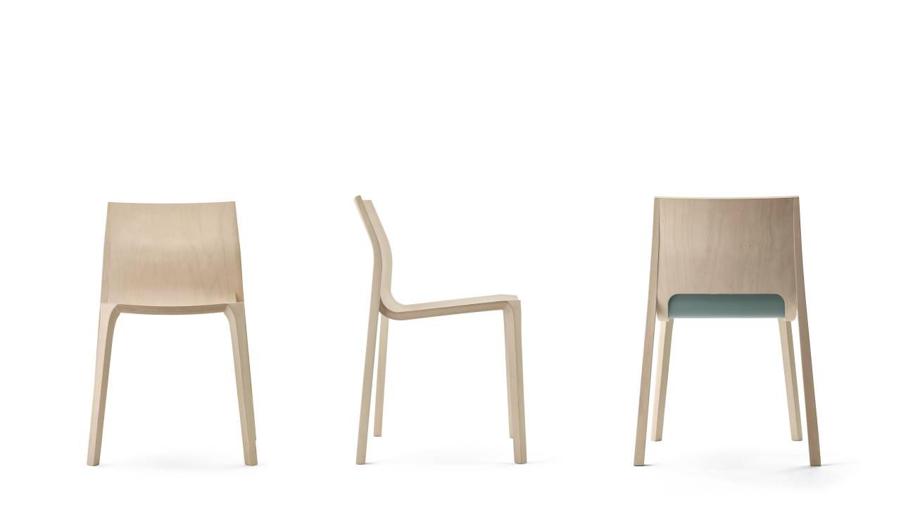Ben van Berkel/UNStudio designs Contour Chair for Ondarreta : Photo © Lopez de Zubiria, courtesy of © Ondarreta