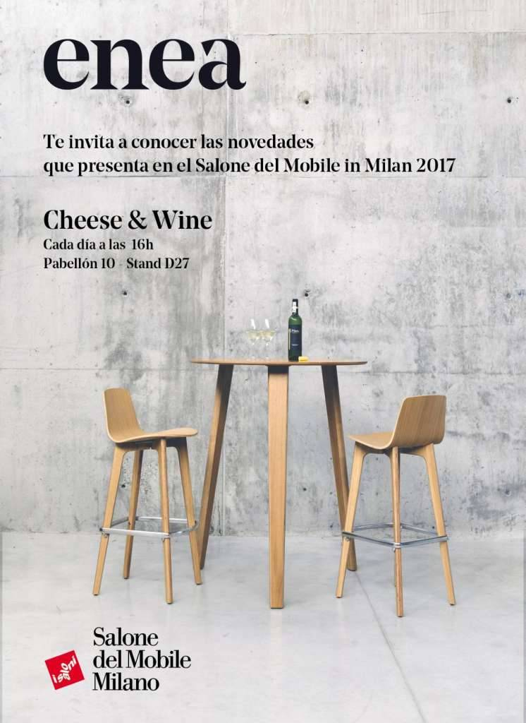 ENEA organiza durante la Milano Design Week el evento especial Cheese&Wine : Photo © ENEA