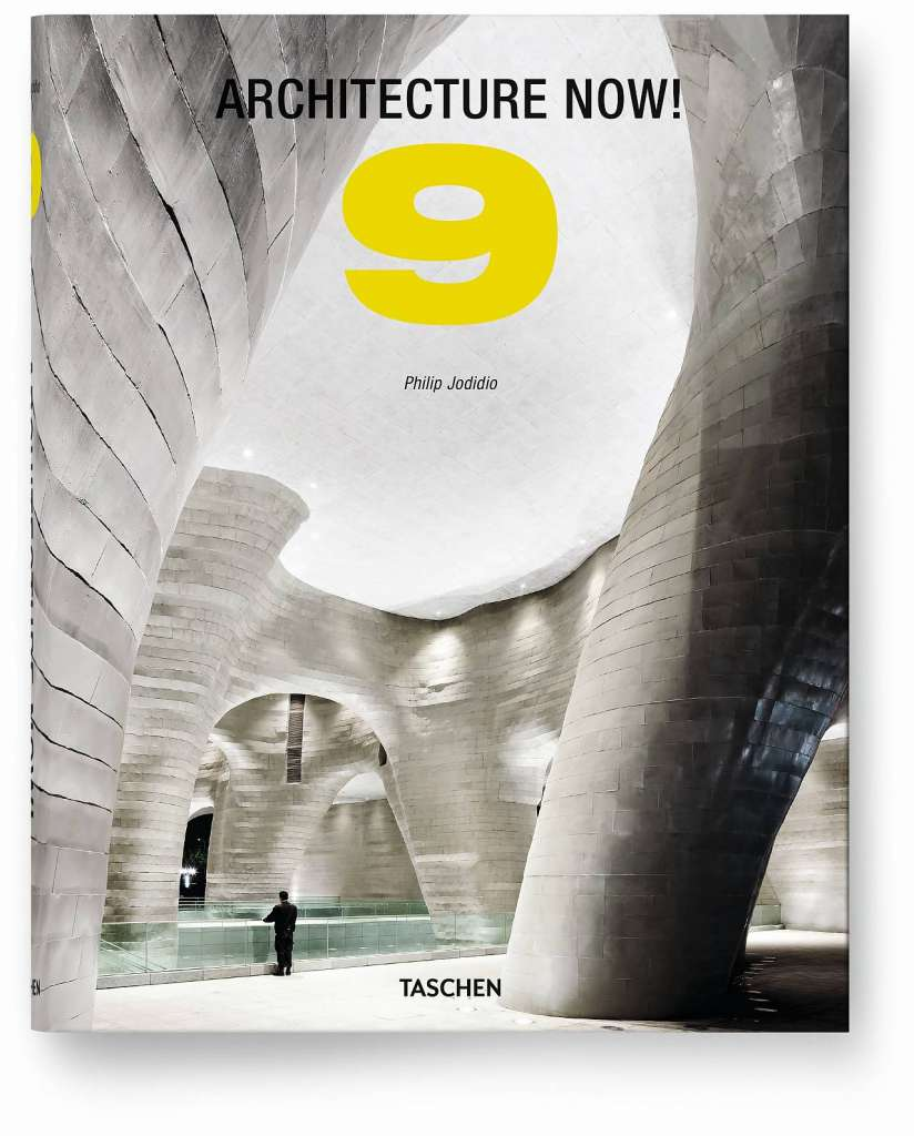 Architecture Now! Vol. 9 del autor Philip Jodidio, Tapa dura, 21,5 x 27,4 cm, 480 páginas : Cover © TASCHEN GmbH