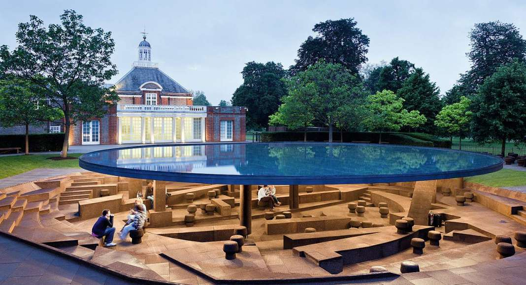 Herzog & de Meuron, Serpentine Gallery Pavilion, Kensington Gardens, London, UK : Photo credit © Iwan Baan