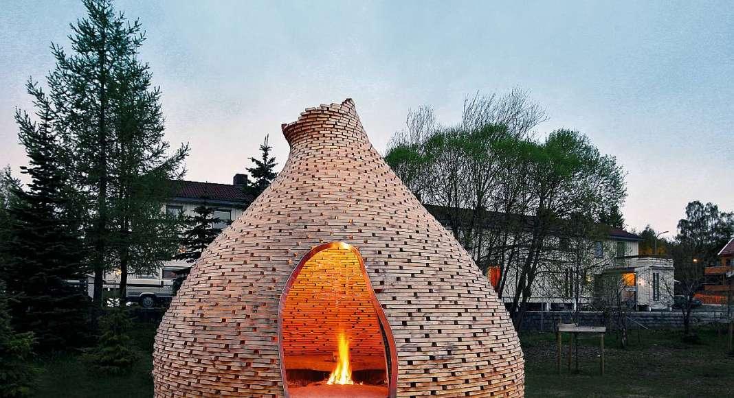 Haugen/Zohar, Fireplace for Children, Trondheim, Norway : Copyright © Haugen/Zohar Arkitekter/TASCHEN