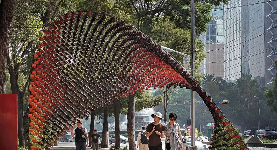 Rojkind Arquitectos, Portal of Awareness, Mexico City, Mexico : Copyright © Rojkind Arquitectos, photo by Jaime Navarro/TASCHEN