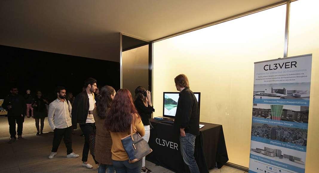 Imágenes del Tour Virtual en el Pabellón Mies van der Rohe Barcelona : Photo © Fundació Mies van der Rohe and © CL3VER