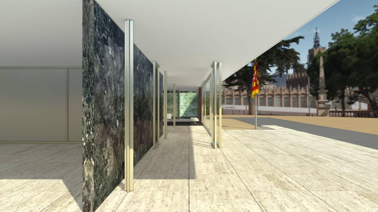 Imágenes del Pabellón Mies van der Rohe de Barcelona : Photo © CL3VER, cortesía © Fundació Mies van der Rohe