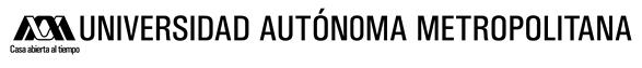 Logo © Universidad Autónoma Metropolitana (UAM)