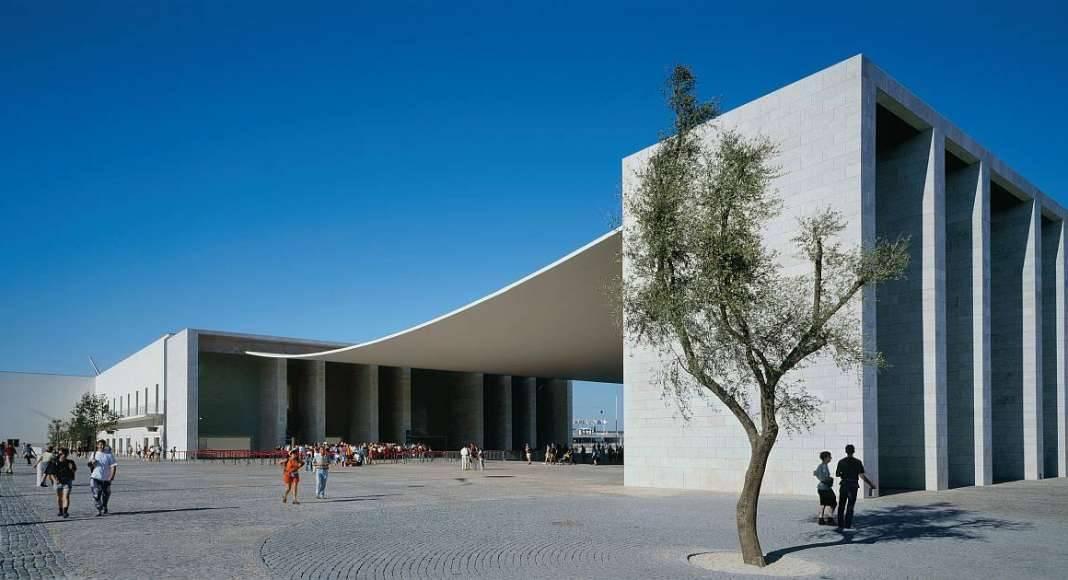 Portuguese Pavilion, Expo '98 in Lisbon, Portugal : Copyright © Duccio Malagamba