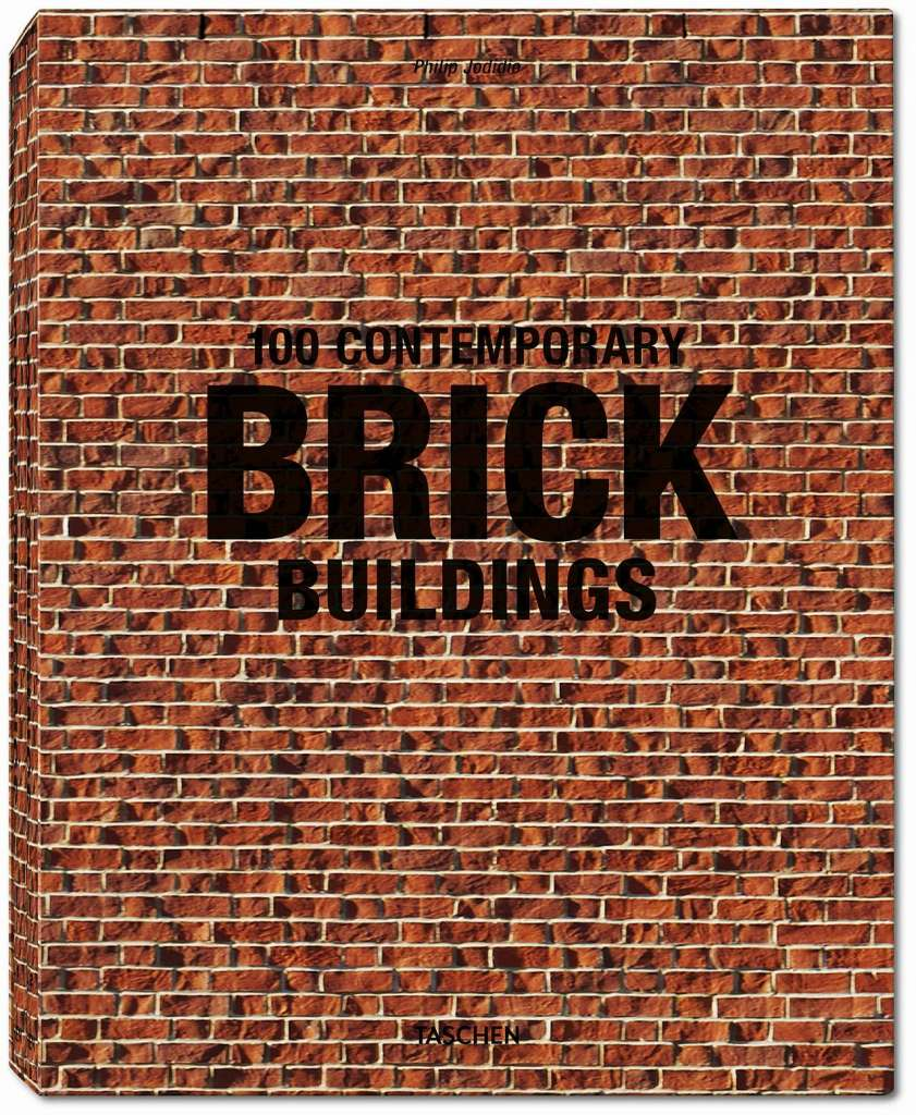 100 Edificios de Ladrillo Contemporáneos del autor Philip Jodidio y publicado por TASCHEN : Portada © TASCHEN