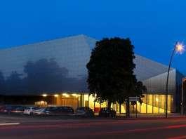 Modern Music Centre en Évreux, France by Hérault Arnod architectes : Photo credit © André Morin