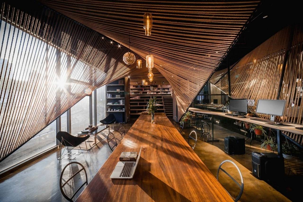 Rope Wave Office by Jing-Rui Lin (Atelier Ten) - Popular Choice Winner, Coworking Space : Photo credit courtesy of © Jing-Rui Lin (Atelier Ten)