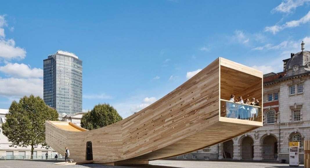 The Smile by Alison Brooks Architects Ltd - Jury Winner, Pavilions : Photo credit courtesy of © Alison Brooks Architects Ltd