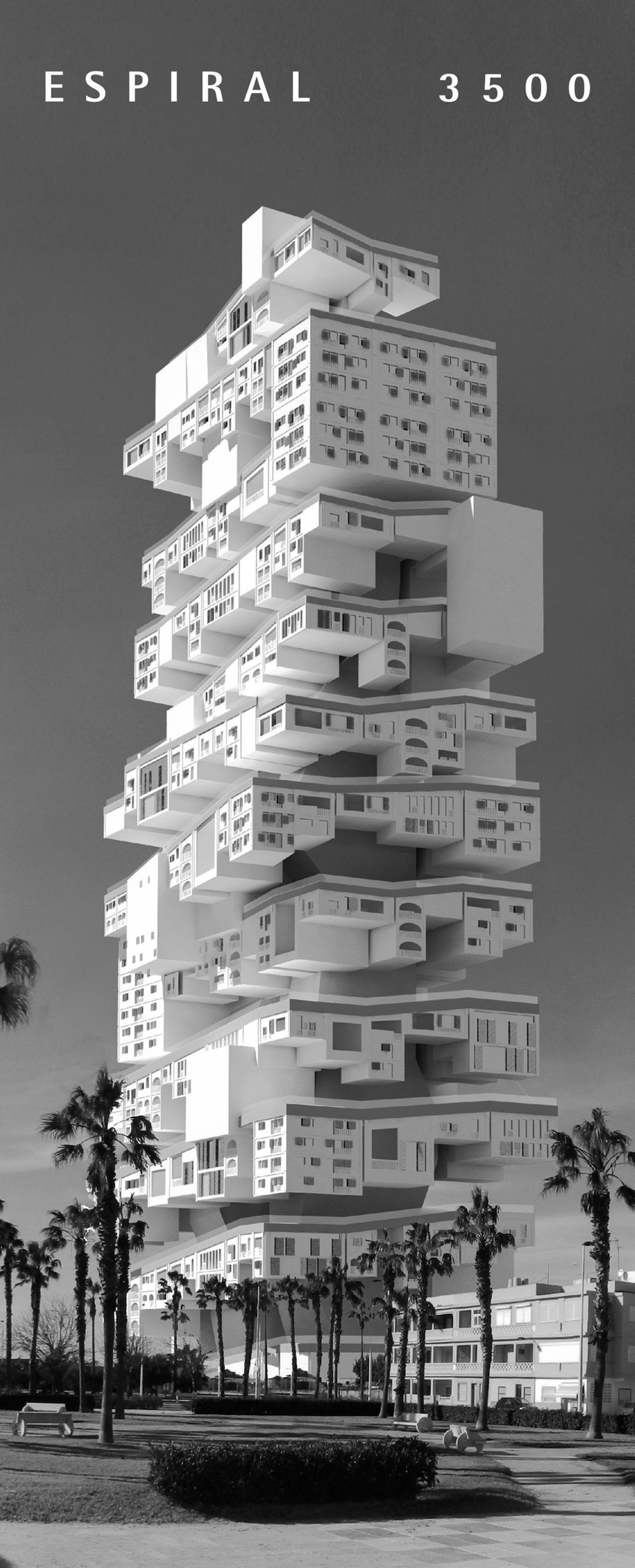 Espiral3500 - third place eVolo Skyscraper Competition 2017 : Photo credit © Javier López-Menchero Ortiz de Salazar