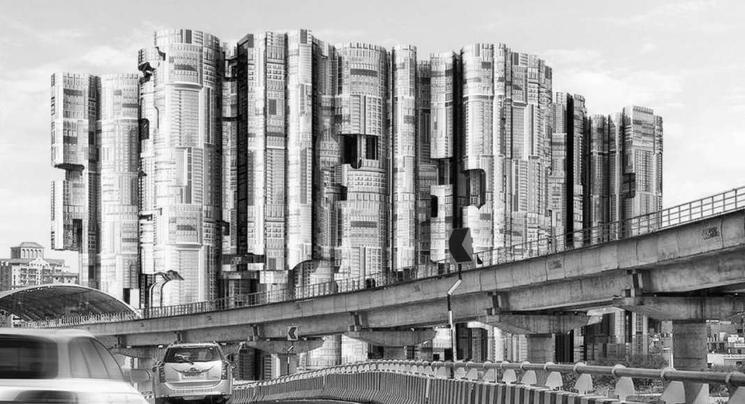 City Skyscraper - honorable mention eVolo Skyscraper Competition 2017 : Photo credit © Jitendra Sawant