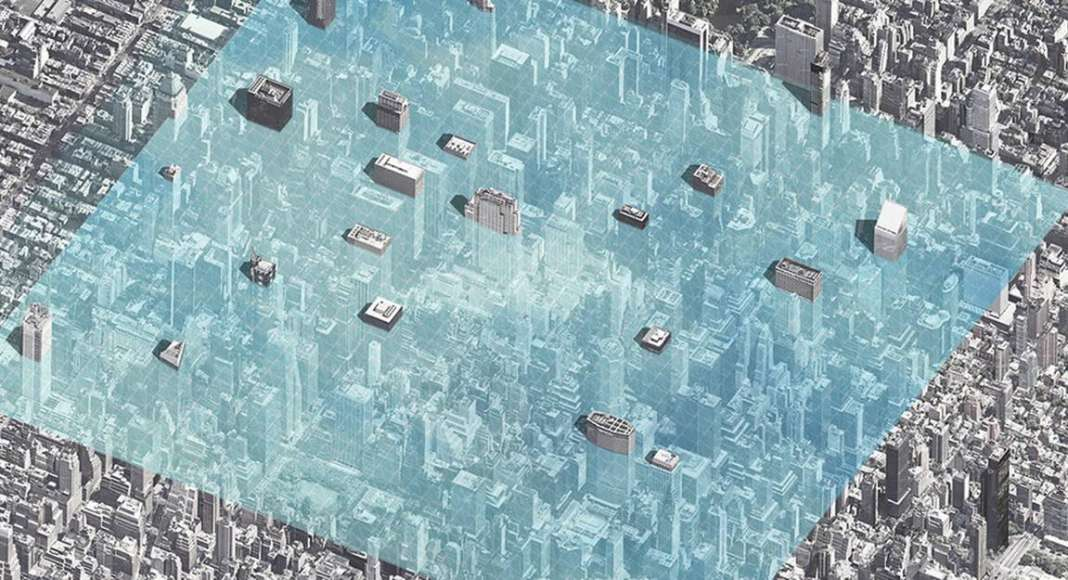 Parallel Manhattan - honorable mention eVolo Skyscraper Competition 2017 : Photo credit © Zhiyong Dong, Jiongcheng Mou, Xiuping Han, Xingyu Liu