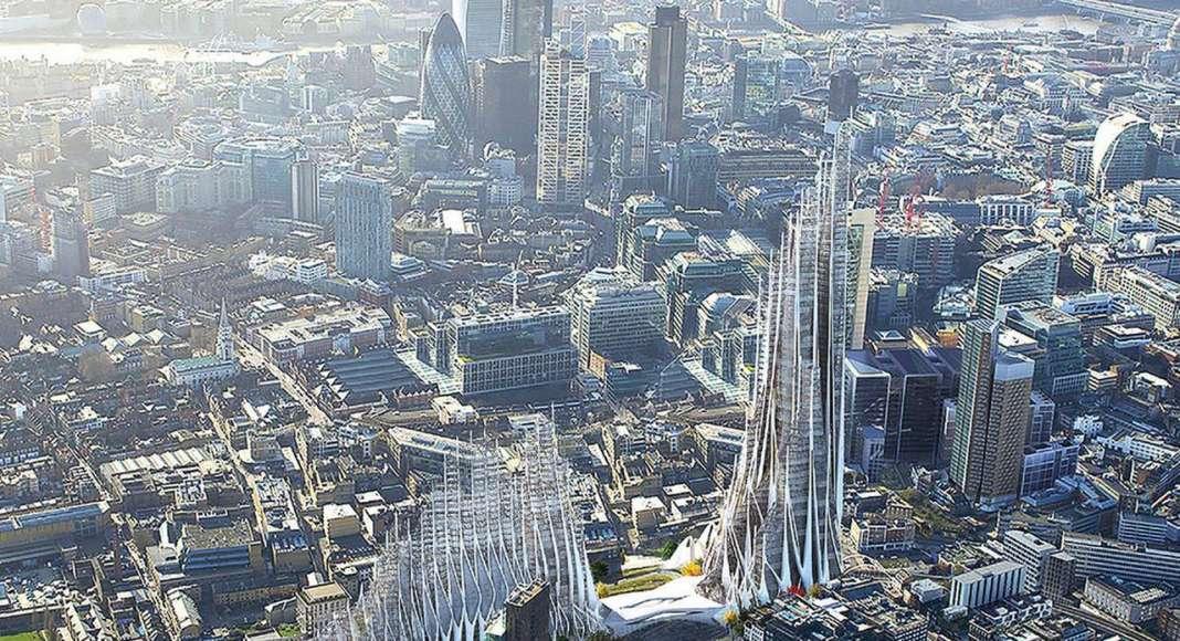 High Density Urban Order - honorable mention eVolo Skyscraper Competition 2017 : Photo credit © Lisa Albaugh, Ben Bourgoin, Jamie Edindjiklian, Roberto Jenkins, Justin Oh