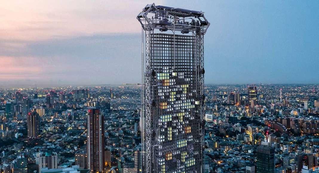 Pod Vending Machine Skyscraper - honorable mention eVolo Skyscraper Competition 2017 : Photo credit © Haseef Rafiei