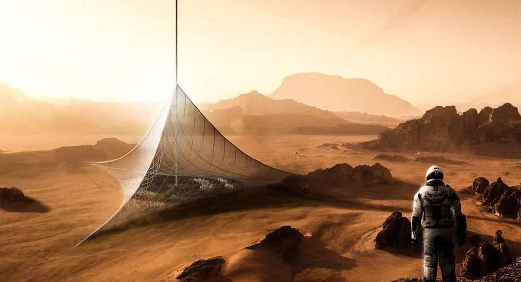 Genesis Mars Skyscraper - honorable mention eVolo Skyscraper Competition 2017 : Photo credit © Arturo Emilio Garrido Ontiveros, Andrés Pastrana Bonillo, Judit Pinach Martí, Alex Tintea
