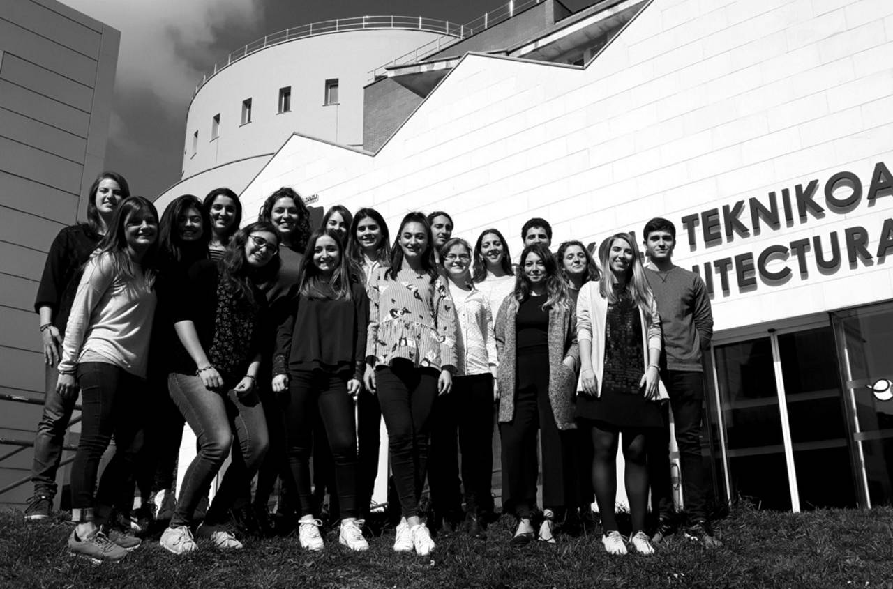 Team - Higher Technical School of Architecture of San Sebastián : Photo credit © The Higher Technical School of Architecture of the University of the Basque Country in San Sebastian