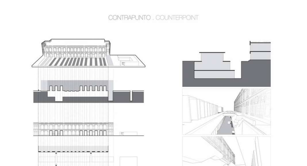 Lima Art Museum New Contemporary Art Wing Concept Diagrams : Photo credit © Efficiency Lab for Architecture PLLC