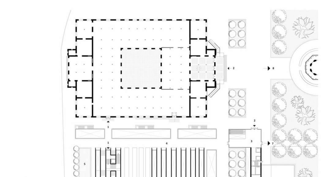 Lima Art Museum New Contemporary Art Wing Ground Floor Plan : Photo credit © Efficiency Lab for Architecture PLLC