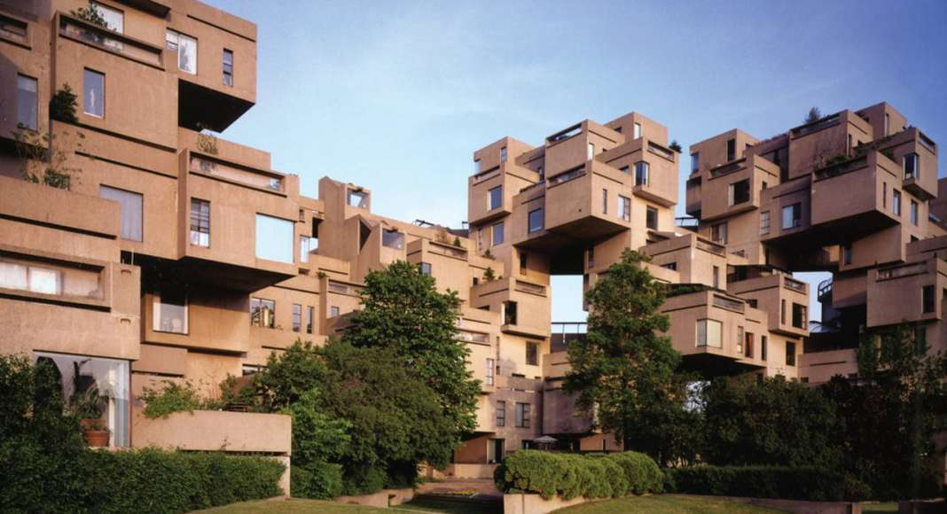 Habitat '67 - View from courtyard : Photo credit image by © Timothy Hursley