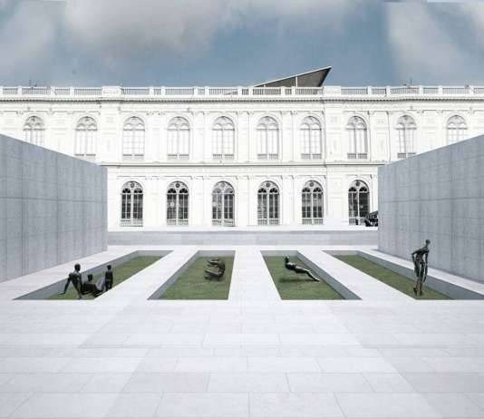 Lima Art Museum New Contemporary Art Wing Sculpture Garden : Photo credit © Efficiency Lab for Architecture PLLC