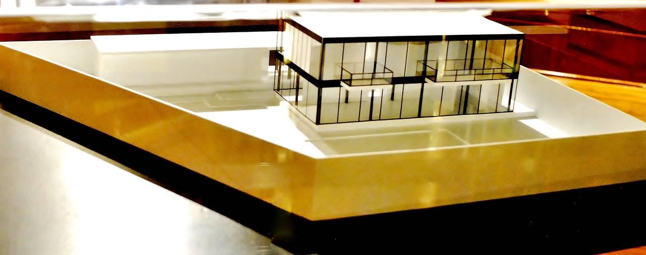 Maqueta Casa Habitación Sol : Fotografía cortesía del © INBA