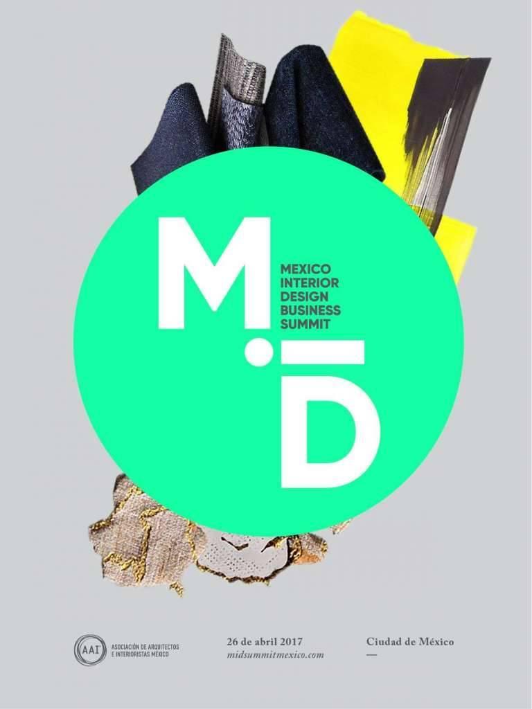MID: México Interior Design Business summit : Poster © AAI