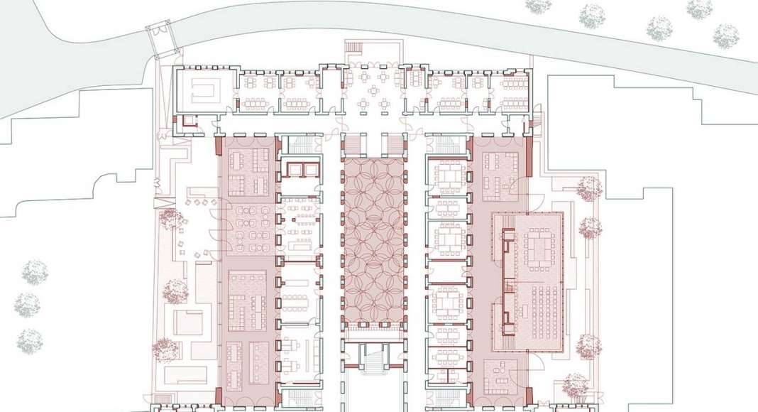 KAAN Architecten presenta B30 Planta Baja : Drawing © KAAN Architecten