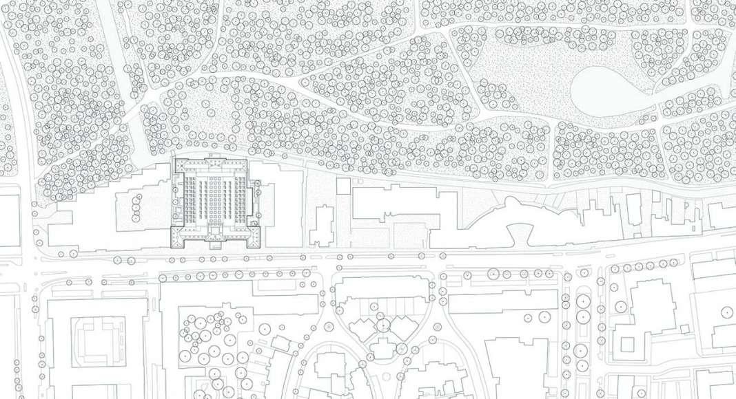 KAAN Architecten presenta B30 Planta de Conjunto : Drawing © KAAN Architecten