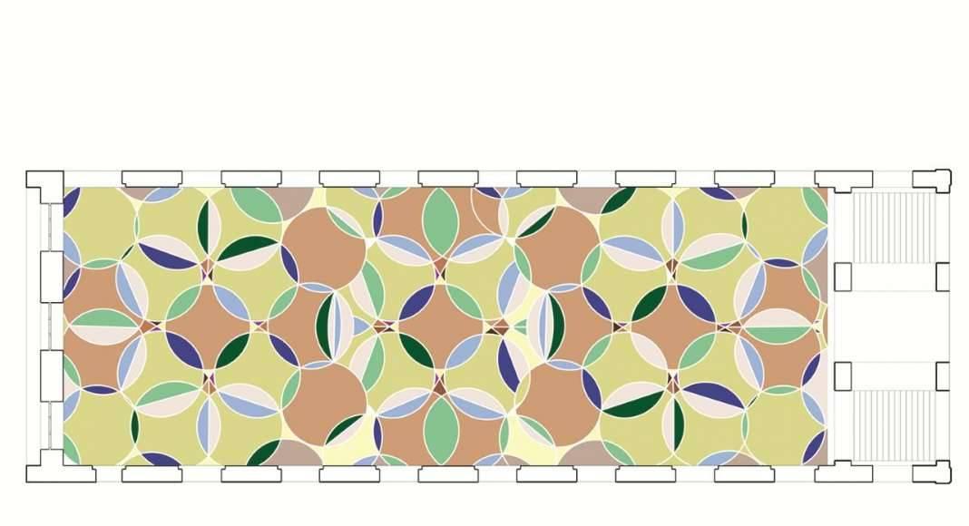 KAAN Architecten presenta B30 Concepto del Mosaico en el Atrio : Diseño © KAAN Architecten
