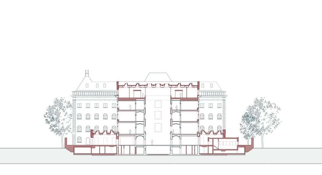 KAAN Architecten presenta B30 Corte Transversal : Drawing © KAAN Architecten