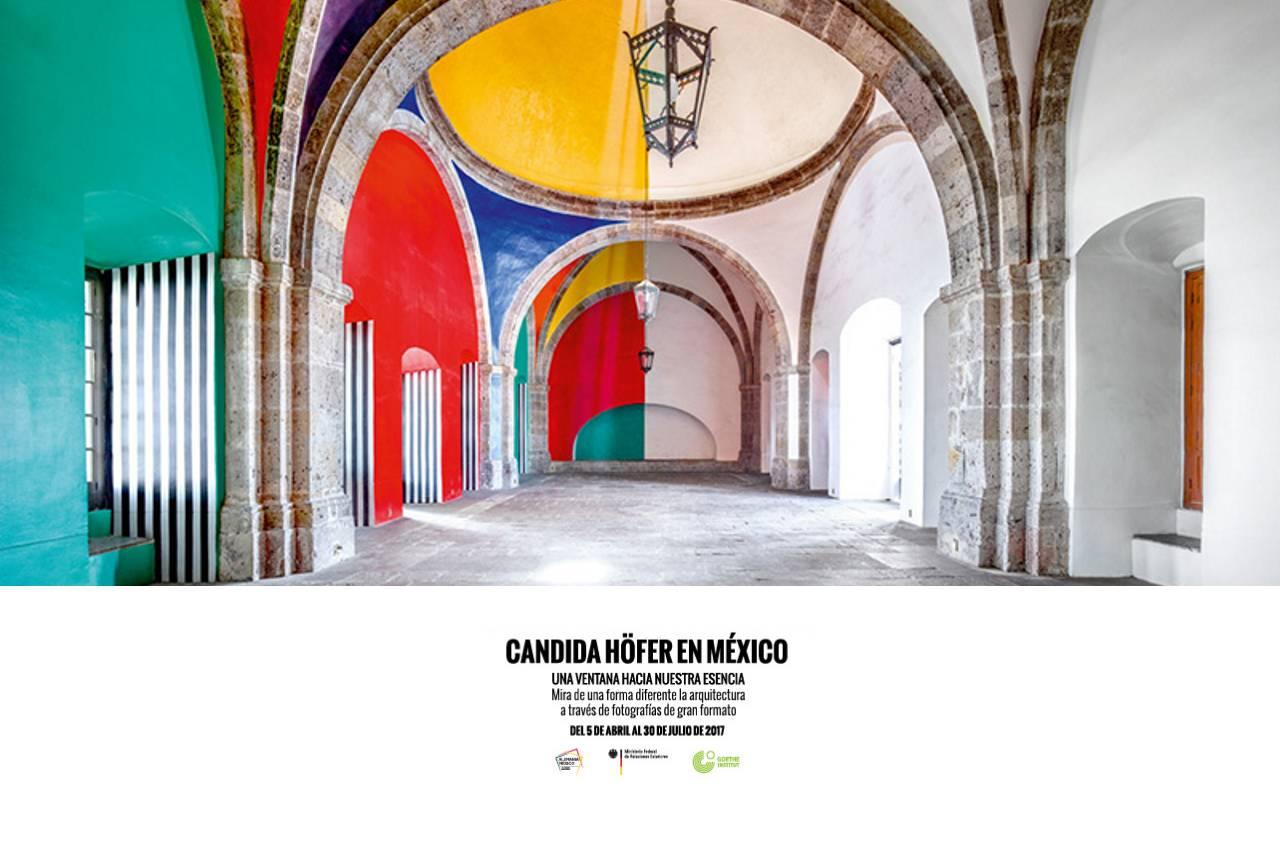 Candida Höfer en México en el Antiguo Colegio de San Ildefonso : Cartel © Goethe Institut Mexiko, cortesía del © Antiguo Colegio de San Ildefonso