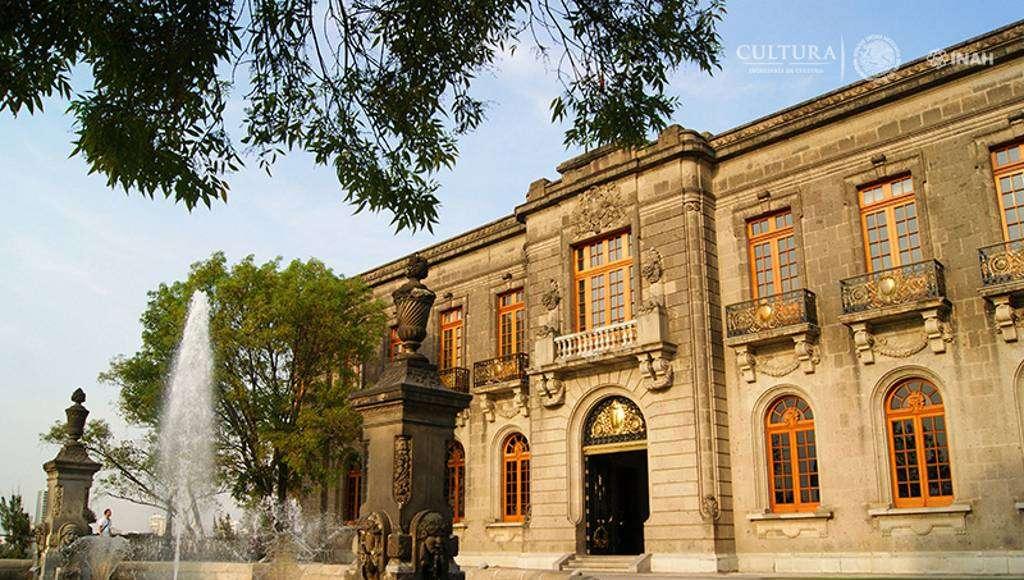 Castillo de Chapultepec. Museo Nacional de Historia : Foto © Mauricio Marat, INAH