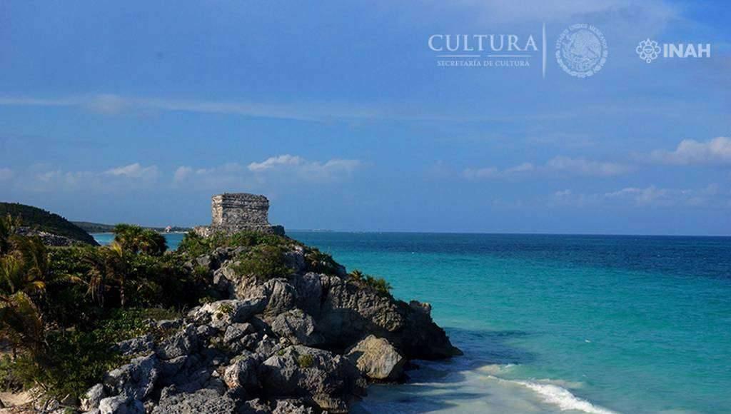 Sitio arqueológico de Tulum, en Quintana Roo : Foto © Mauricio Marat, INAH