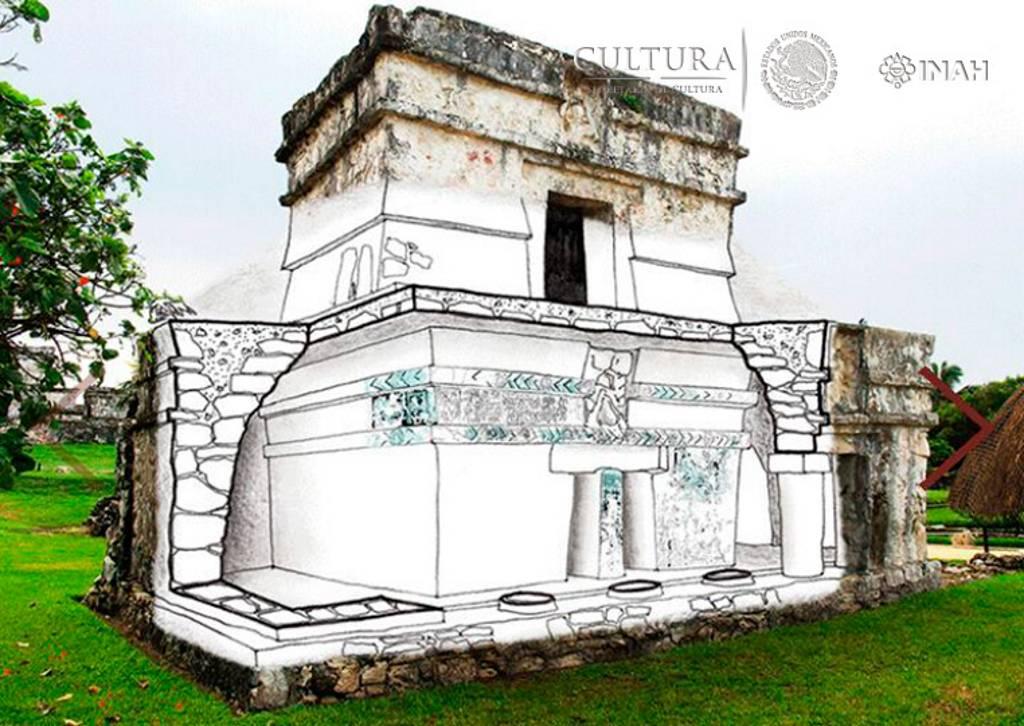 Arquitectura del Santuario Interior : Foto © INAH