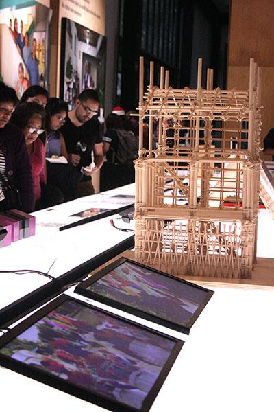 Pabellón de México Despliegues y ensambles. 31 proyectos y propuestas de arquitectura social : Foto © IPN Cultura