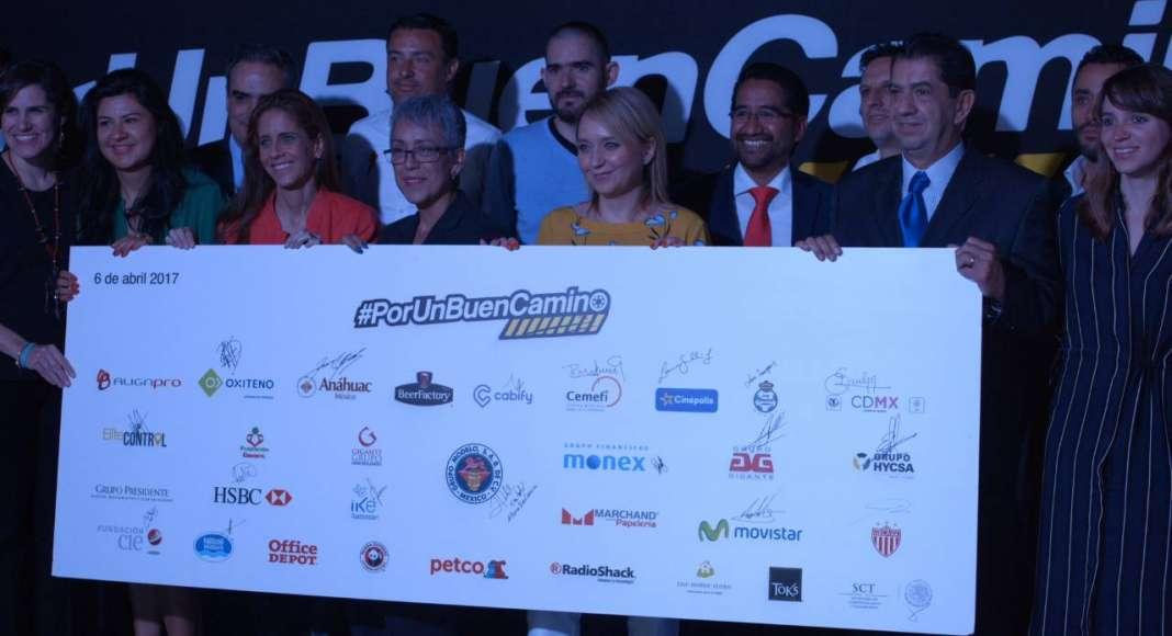 Más de 180 Empresas se únen a la iniciativa #PorUnBuenCamino para la seguridad vial : Fotografía cortesía de © Weber Shandwick