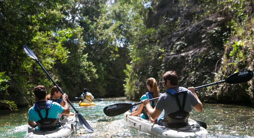 Kayak Camp at Mayakoba : Photo © Mayakoba Resorts