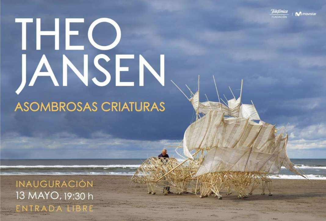 Exposición Theo Jansen. Asombrosas Criaturas : Fotografía © Theo Jansen, cortesa de © Laboratorio Arte Alameda (LAA)