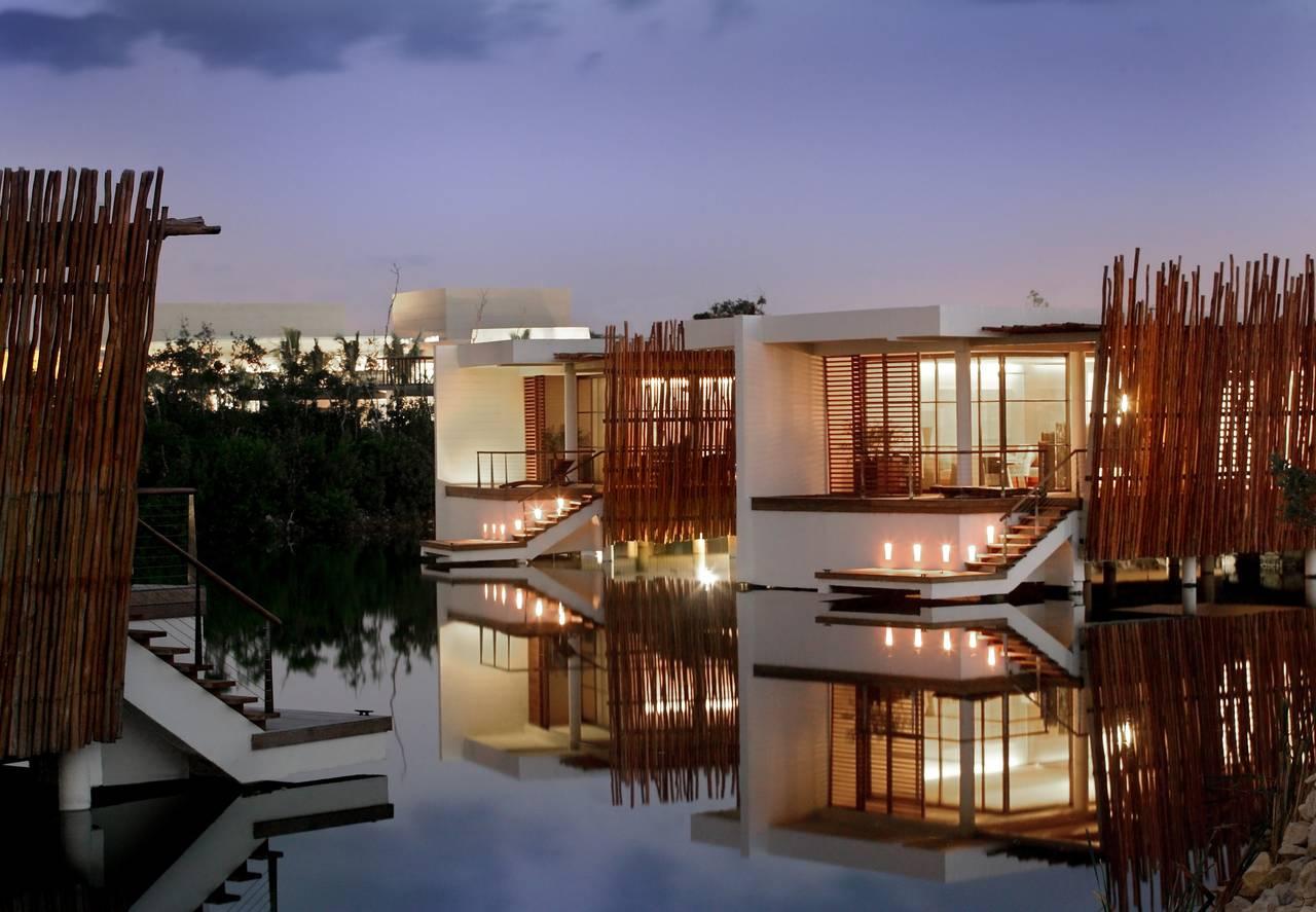 Rosewood Mayakoba Over the Water Villa : Photo © Mayakoba Resorts