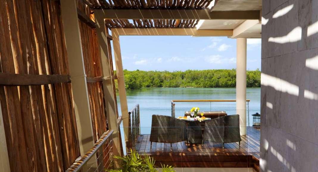 Rosewood Mayakoba Over Water Terrace View : Photo © Mayakoba Resorts