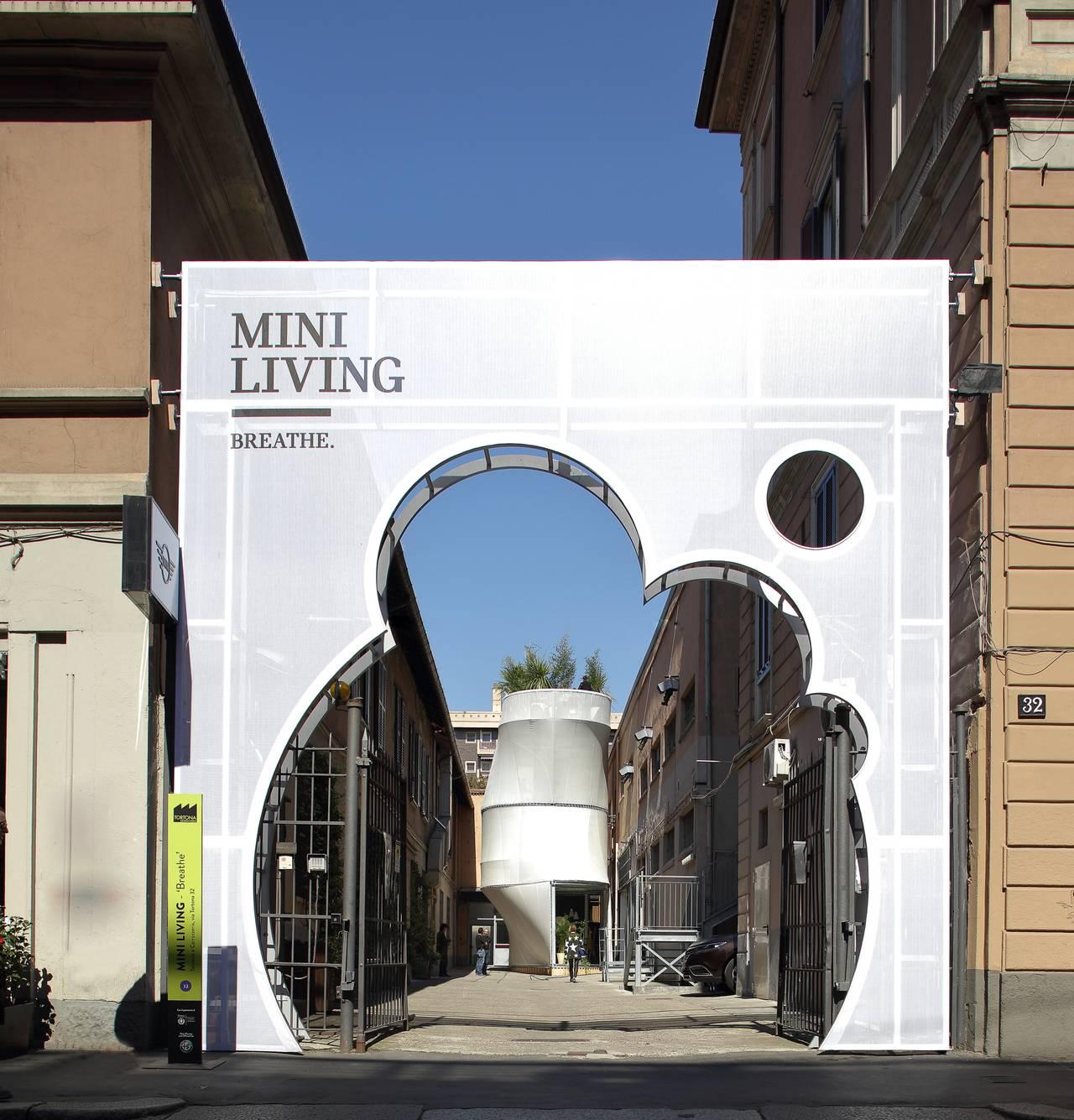 Instalación MINI LIVING – Breathe en el Salone del Mobile 2017 : Photo © BMW Group