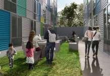 Proyecto inmobiliario Calle 4, desarrollado por Quiero Casa en colaboración con Enrique Norten : Fotografía @TEN Arquitectos y © Quiero Casa