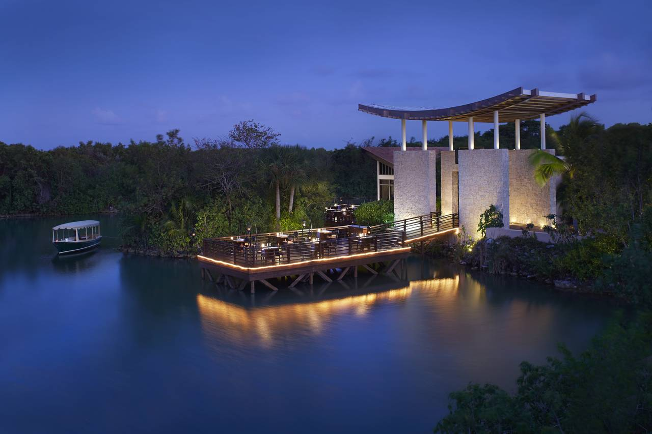 Banyan Tree Mayakoba Saffron : Photo © Mayakoba Resorts