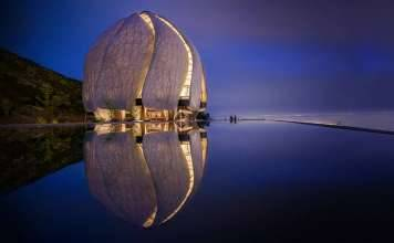 Photo: Templo Bahá'í of South America © Hariri Pontarini Architects, courtesy of © TED Conferences LLC