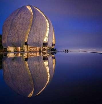 Photo: Templo Bahá'í of South America © Hariri Pontarini Architects, courtesy of © TED Conferences LLC
